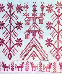 Вышивка южных карел, начало ХХ века